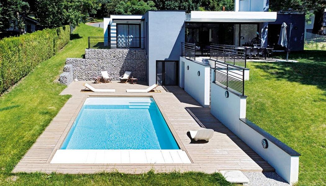 Piscines Desjoyaux Traditioneller Schwimmbad Schwimmbecken Schwimmbad & Spa Garten-Pool | Design Modern