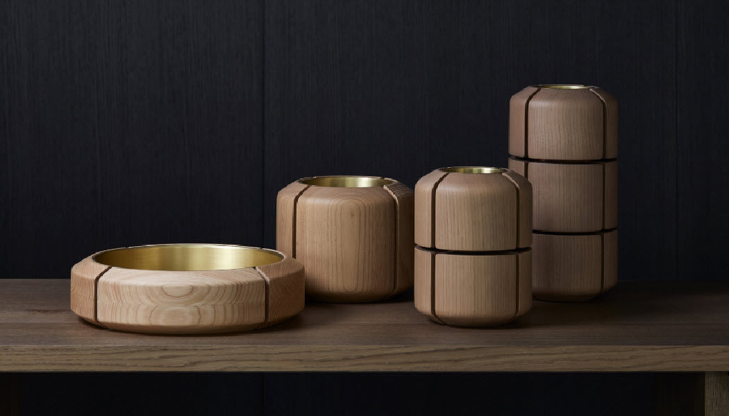 DAN YEFFET Ziervase Dekorative Vase Dekorative Gegenstände Wohnzimmer-Bar | Design Modern