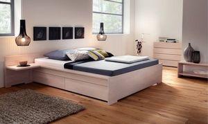 Espace Et Mieux Etre Doppelbett mit Bettkästen