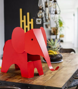 Tierskulptur-METAL Ô DESIGN-Elephant