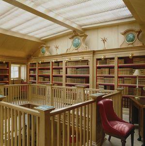 Ateliers Perrault Freres -  - Massangefertigter Bücherschrank