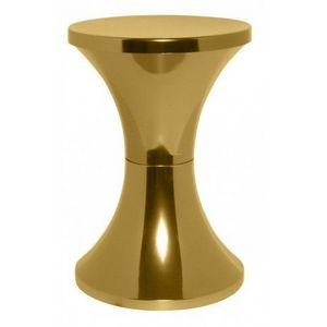 Branex Design - branex design - tabouret tam tam chromé or - brane - Hocker