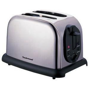 TECHWOOD - grille pain inox - Toaster
