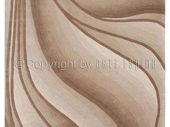 Arte Espina - tapis in motion beige 200x300 en acrylique - Moderner Teppich