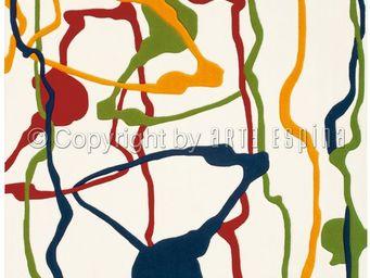 Arte Espina - tapis design paint colour festival - Moderner Teppich