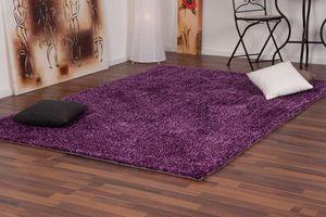 NAZAR - tapis focus 120x170 violet - Moderner Teppich