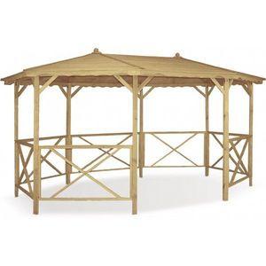 JARDIPOLYS - tonnelle octogonale mael en pin jardipolys - Pavillon