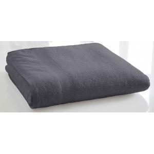 TODAY - serviette de bain unie 70 x 130 cm - couleur - gri - Handtuch