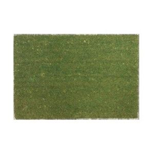 ILIAS - paillasson coco - couleur - vert - Fussmatte