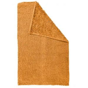 TODAY - tapis salle de bain reversible - couleur - orange - Badematte