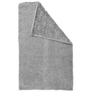TODAY - tapis salle de bain reversible - couleur - gris c - Badematte