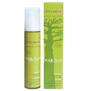 LITTLE BIG BIO - huile de beauté bio visage purifiante - 50 ml - ma - Pflegeöl