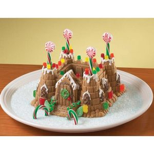 Nordicware - moule à gateau chateau fort 3d - Kuchenform