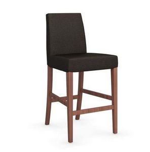 Calligaris - chaise de bar latina de calligaris couleur café et - Barstuhl