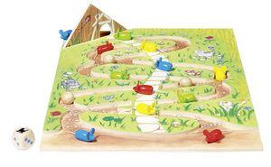 GOKI - jeu 2 chemins pour 1 fromage - Gesellschaftsspiel