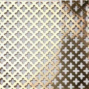 BRASS - g01 004 15 - Dekorative Drahtzaun