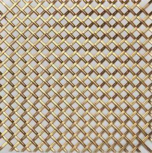 BRASS - g02 003 - Dekorative Drahtzaun