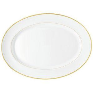 Raynaud - fontainebleau or (filet marli) - Ovale Schale