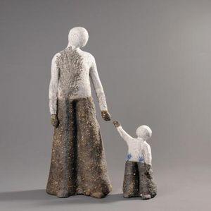 ATELIER TERRES D'ANGELY -  - Kleine Statue