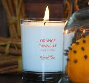 LES LUMIÈRES DU TEMPS - bougie orange cannelle - Duftkerze