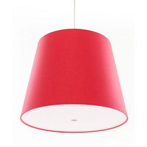 FrauMaier - single big cluster - suspension rouge ø39cm | susp - Deckenlampe Hängelampe