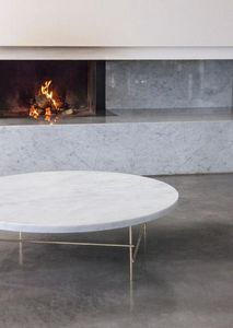 APARENTMENT - marbelous coffee table - Runder Couchtisch