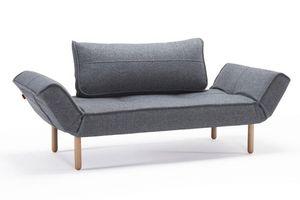 INNOVATION - canape lit design zeal gris granite convertible 20 - Klappsofa