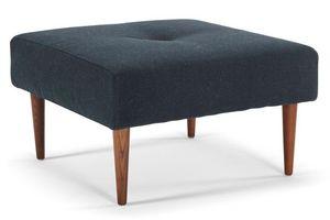 INNOVATION - innovation living pouf recast bleu 65*65 cm - Sitzkissen