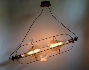 VIEUBLED BENOÎT - diptyque miroir - Deckenlampe Hängelampe