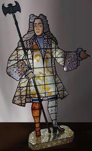 LUX MAXIMA - l'homme de lisbonne - Buntglasfenster