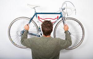 ROSS DOLTON - bull bike rack - fur -