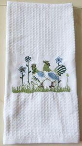 ITI  - Indian Textile Innovation - embroidery - Geschirrhandtuch