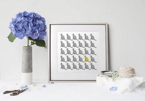 la Magie dans l'Image - print art chats groupés - Dekobilder