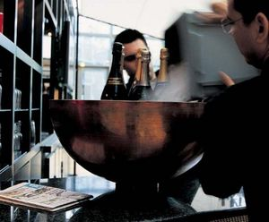 DOMANI - zinc - Champagnerkühler