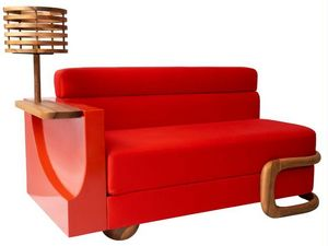 ROUGE ABSOLU - convoitise - Sofa 2 Sitzer