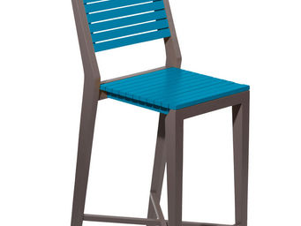 City Green - chaise haute de jardin portofino - 43.6 x 55 x 111 - Barstuhl