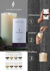 SMART CANDLE FRANCE - luminara fragrance - Duftkerze