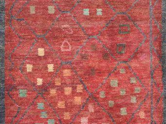Bausol - gyanpur (star red) - Maßgefertigter Wandteppich