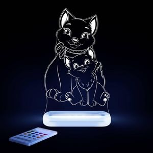 ALOKA SLEEPY LIGHTS - chat - Kinder Schlummerlampe