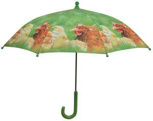 KIDS IN THE GARDEN - parapluie enfant la ferme poulet - Regenschirm