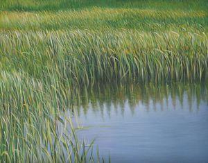 MANUEL CANCEL - aquatic - Zeitgenössische Gemälde