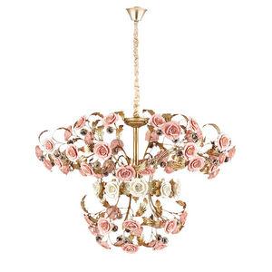 ALAN MIZRAHI LIGHTING - am9962 rose bouquet - Kronleuchter