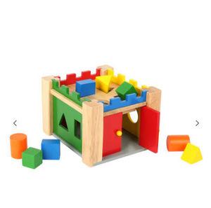 Legler - château à formes - Aufbau Spiel