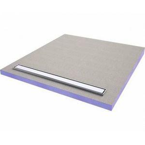 JACKON INSULATION - domoboard by jackon : receveur à carreler avec barrette inox 1600x900x60mm (4512084) - Andere Sonstiges Badezimmer