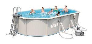 Bestway - piscine hors-sol tubulaire 1421910 - Pool Mit Stahlohrkasten