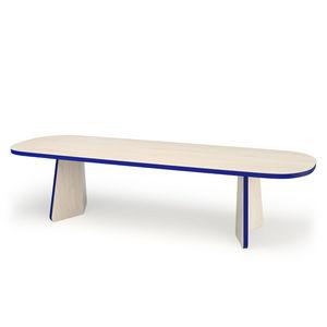 Philippe Cramer -  - Ovaler Esstisch