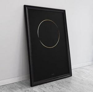 THE THIN GOLD LINE - the one ring - Zeitgenössische Gemälde