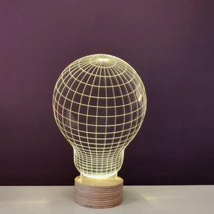 STUDIO CHEHA - bulb - lampe led effet 3d - Tischlampen