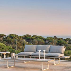 FAST - orizon - canapé en aluminium 2m50 - Gartensofa