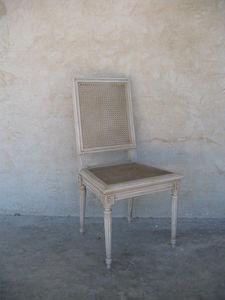 Coup De Soleil - montmajour - Stuhl Mit Korbsitzfläche